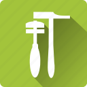 building, construction, hammer, installation, mounting, tool