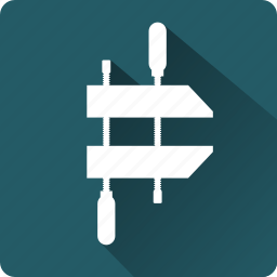 building, construction, installation, mounting, tool, vise icon