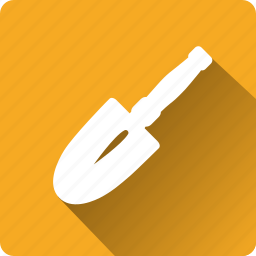 building, construction, installation, mounting, shovel, tool icon