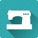 building, construction, installation, mounting, sewing machine, tool icon