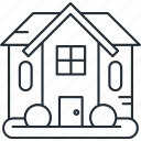 architecture, construction, home, house, real estate icon