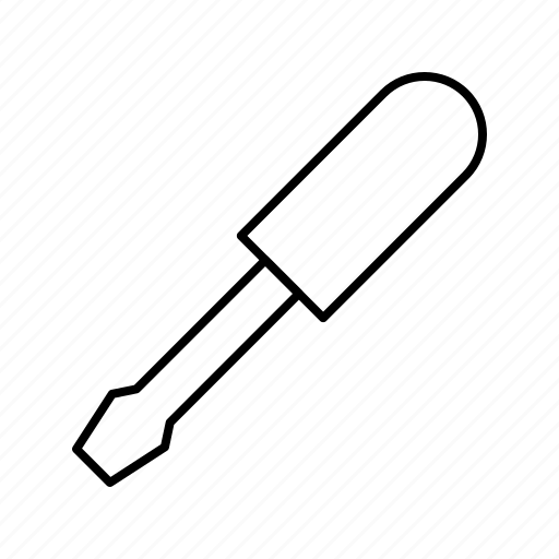 driver, repair, screw, tool icon