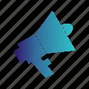 announcement, mega, phone, speaker icon