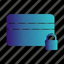 atm, card, credit, debit, dollar, lock icon
