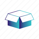 box, cargo, delivery icon