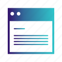folder, template, website icon