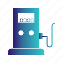 gas, petrol, pump, station icon