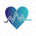 beat, ecg, heart, pulse icon