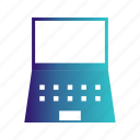 computer, device, electronic, laptop icon