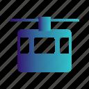 chair, lift, transport, transportation icon