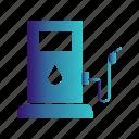 gas, petrol, pump, station, transport icon