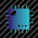 chip, cpu, micro, processor icon
