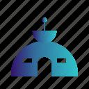satellile, satellite, space, station, technology icon