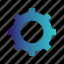 cog, gear, menu, setting icon