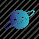 planet, space, uranus icon