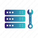 driver, repair, screw, server, tools, wrech icon
