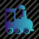 steam, train, transport icon
