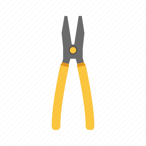 building, construction, pliers, repair, tool icon