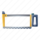 blade, carpentry, construction, hacksaw, saw, tool icon