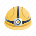 construction, engineer, hard, hat, helmet, protection, safety icon