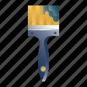 artist, brush, decoration, paint, painter, renovation, tool