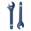 maintenance, mechanic, repair, spanner, support, tool, wrench icon