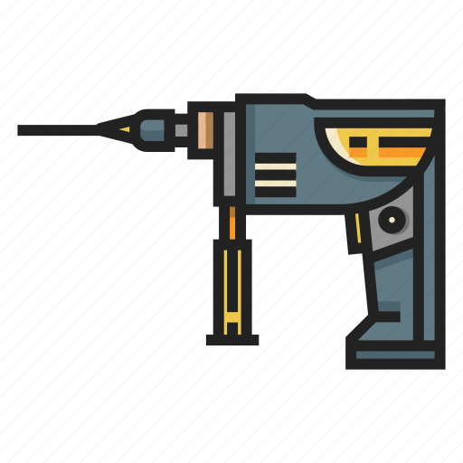 Carpentry, drill, drilling, industry, machine, repair, tool icon - Download on Iconfinder