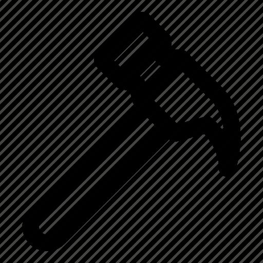 construction, hammer, mallet, tool icon