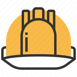 building, construction, equipment, hat, protection, security icon