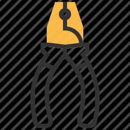construction, equipment, pliers, repair, tool icon