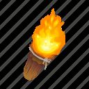 fire, lantern, light, tool, torch icon