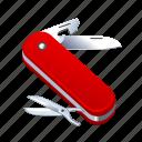 knife, multi, opener, scissors, swiss, tool, use icon