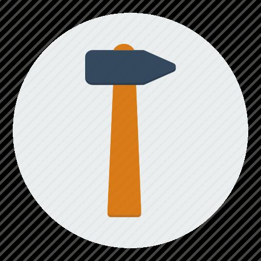carpentry, construction, hammer, masonry, repair, tools icon
