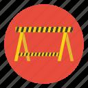 barrier, construction, safe, safety, tape, under, warning