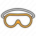 construction, eyewear, goggles, protection, protective, safety, spectacles icon