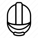 construction, helmet, tools icon