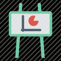 art, board, chart, design, plan, presentation, strategy icon