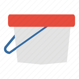 art, bucket, carry, fill, paint, painting, utility icon