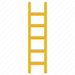 climb, climbing, furniture, ladder, stairs, steps, wooden icon