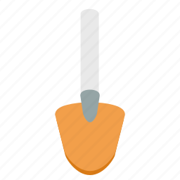 dig, equipment, gardening, mud, repair, shovel, tool icon