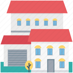 bungalow, cottage, farmhouse, house, villa icon