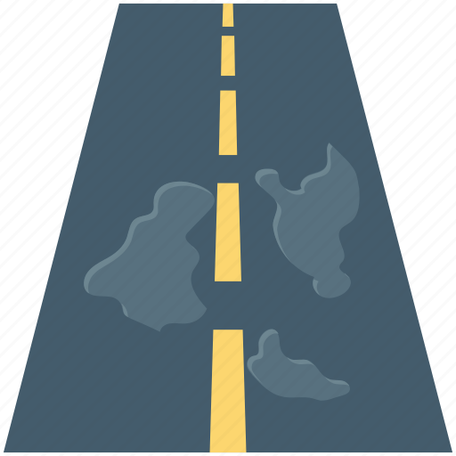 construction, highway, oneway, road, road sign, travel, way icon