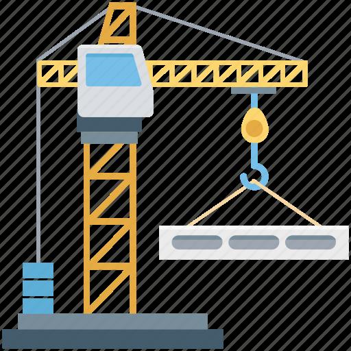 construction, crane hook, lift machine, lifter, lifting, lifting hook icon