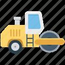 construction roller, construction roller machine, construction vehicle, road roller, roller machine