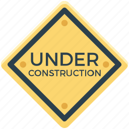 construction, construction board, construction signboard, under construction, under construction signboard icon