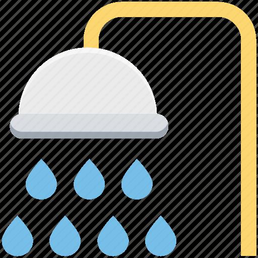 bath, bathing, bathroom, body cleanliness, hygiene, shower, shower tub icon