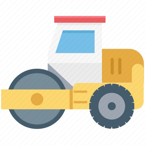 bulldozer, construction, tractor, vehicle, work icon