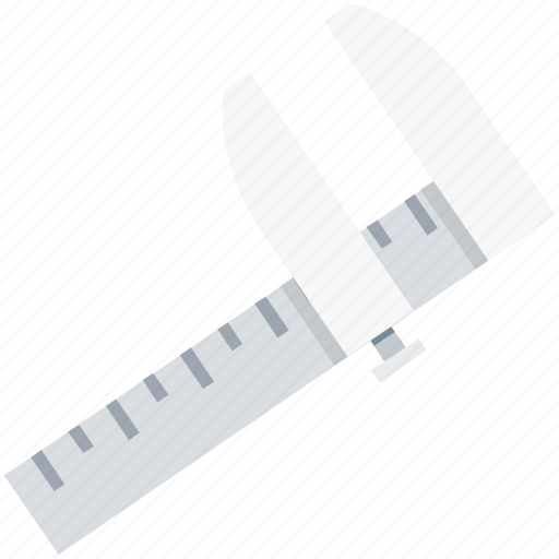 caliper, instrument, tool, vernier, vernier caliper icon