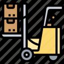 forklift, warehouse, deliver, logistics, transport