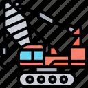 construction, crane, lifting, engineering, machinery
